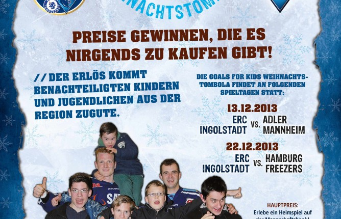 Goals for Kids Weihnachtstombola 2013